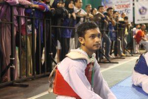Atlet Taekwondo Agung Budiarto