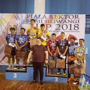 UKM Bulutangkis - Piala Rektor Bumi Siliwangi Cup 2018