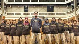 Tim UKM Taekwondo Universitas Widyatama yang akan berlaga di Kejurnas Taekwondo UTI PRO