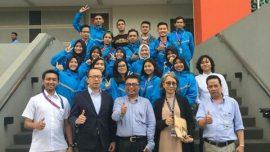 Pelepasan tim Taekwondo UTama yang akan mengikuti Kejurnas Taekwondo di Jawa Timur