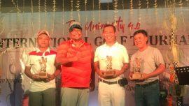 Atlit Widyatama menjadi juara di Kejuaraan Golf Nasional Mercubuana Cup
