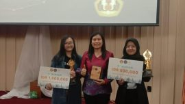 Mahasiswa Universitas Widyatama Juara di Gemasis English Competition