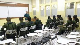 Pra Pendidikan Dasar Calon Resimen Mahasiswa Mahawarwan