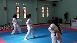Ukm Taekwondo: Ujian Kenaikan Tingkat Periode III